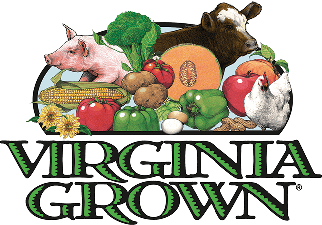 Virginia grown beef, chickens and eggs