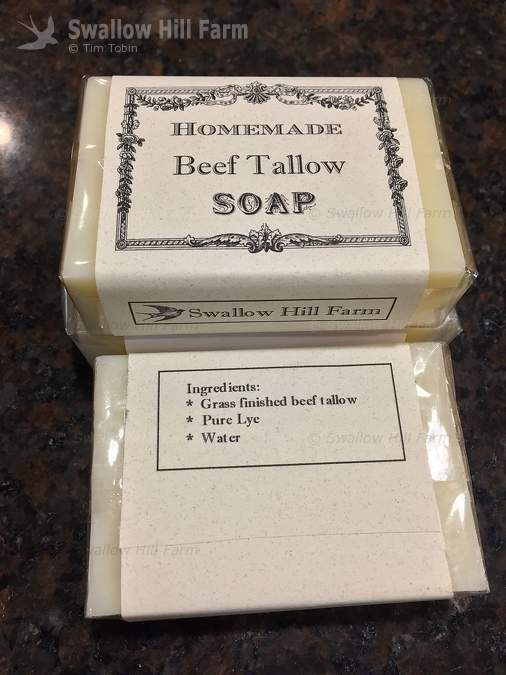 Pure Grassfed Beef Tallow Soap