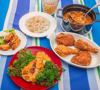 Five Great Chicken Dishes